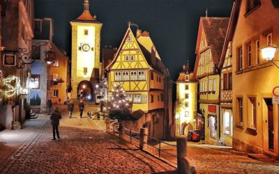 Weihnachtsmarkt Rothenburg o. d. T. und Therme Bad Windsheim