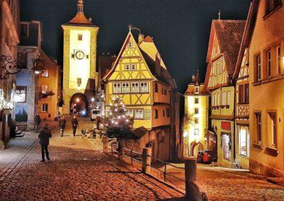 Weihnachtsmarkt Rothenburg o. d. T. und Therme Bad Windsheim