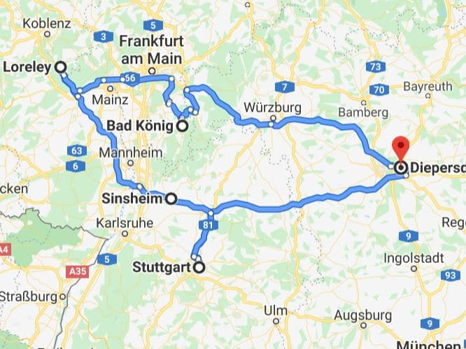 CMT 2020, Therme Sinsheim & Oberes Rheintal