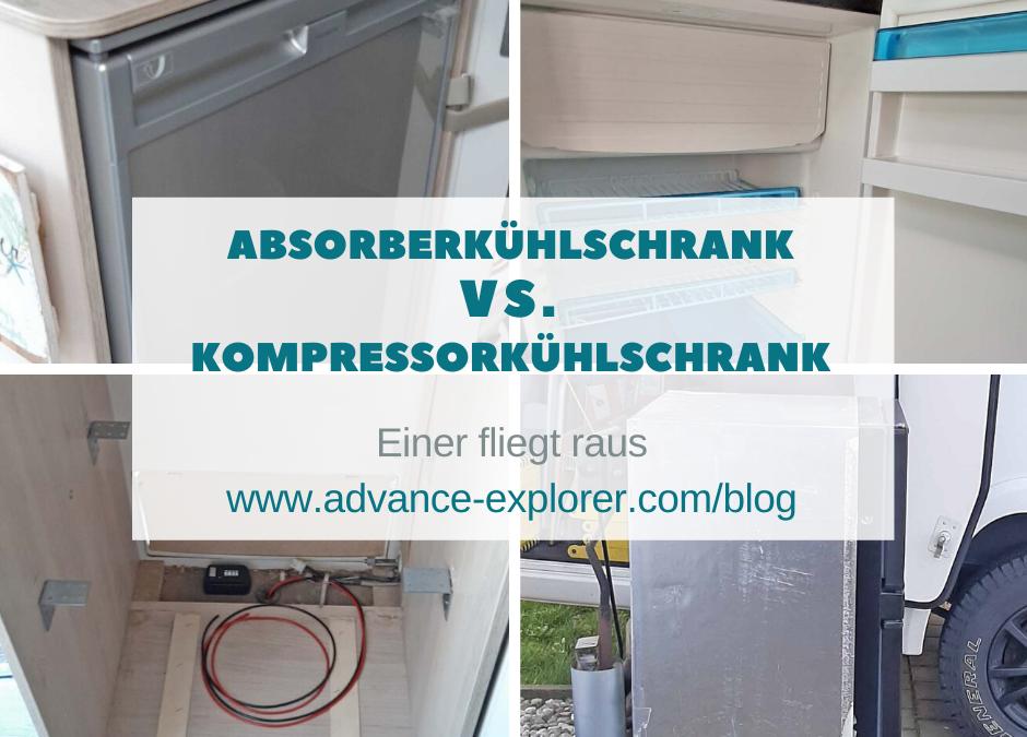 Absorberkühlschrank vs. Kompressorkühlschrank