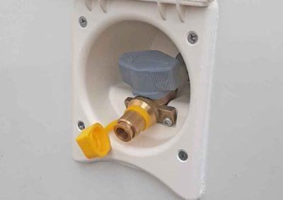 Außengasanschluss